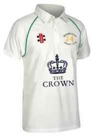 Minchinhampton CC Matrix Shirt Green Trim - The Crown